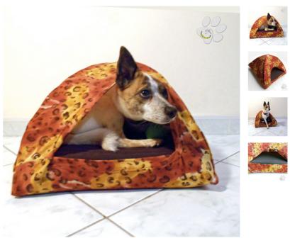 cuccia-igloo-da-interni-per-cane-gatto-animali-malice's-craftland Malice's Craftland - riciclo creativo - artigianato sostenibile italiano