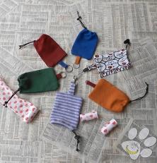 Sacchetto per bustine - cane - Malice for Animals- Malice's Craftland 00