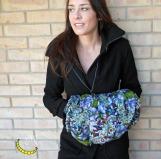 Scalda mani manicotto imbottito - Malice's Craftland - riciclo creativo - artigianato sostenibile italiano