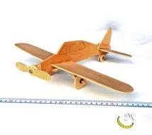 aereo di legno riciclato da dipingere Malice's Craftland - riciclo creativo - artigianato sostenibile italiano