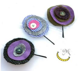 fermagli per capelli tessuti e bottoni riciclati - malice's craftland.png