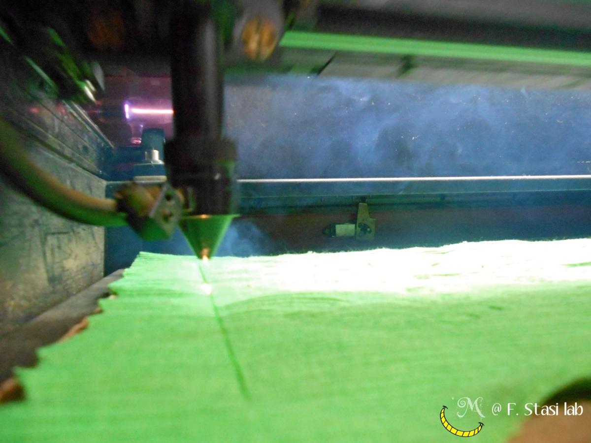 Malice's Craftland @ Fabio Stasi digital lab - lasercut experiment