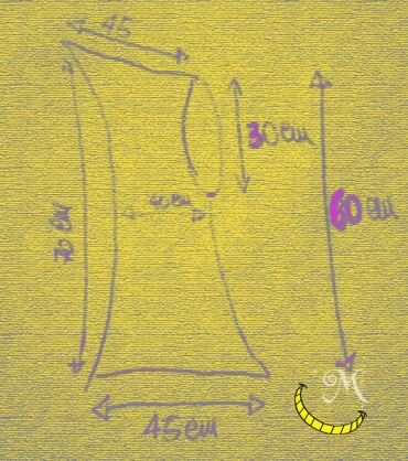 Malice's Craftland - hand knitting - modello scaldacollo di lana con cappuccio a punta