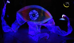 Malice's Craftland - uv decoration - flower - eye 07