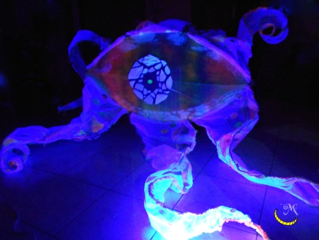 Malice's Craftland - uv decoration - flower - eye 14