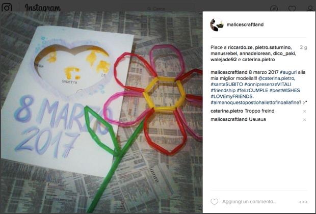Malice's Craftland - riciclo creativo cannucce plastica - fiore