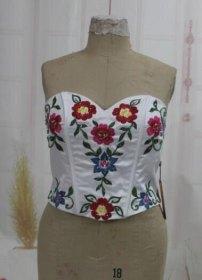 quinceanera - vestito - corpetto -Corona di fiori di stoffa- quinceanera - Malice's Craftland