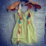 Malice's Craftland - costume di scena - rukola fire - uccello 23