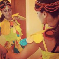 Malice's Craftland - costume di scena - rukola fire - uccello