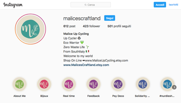 Malice' s craftland on instagram